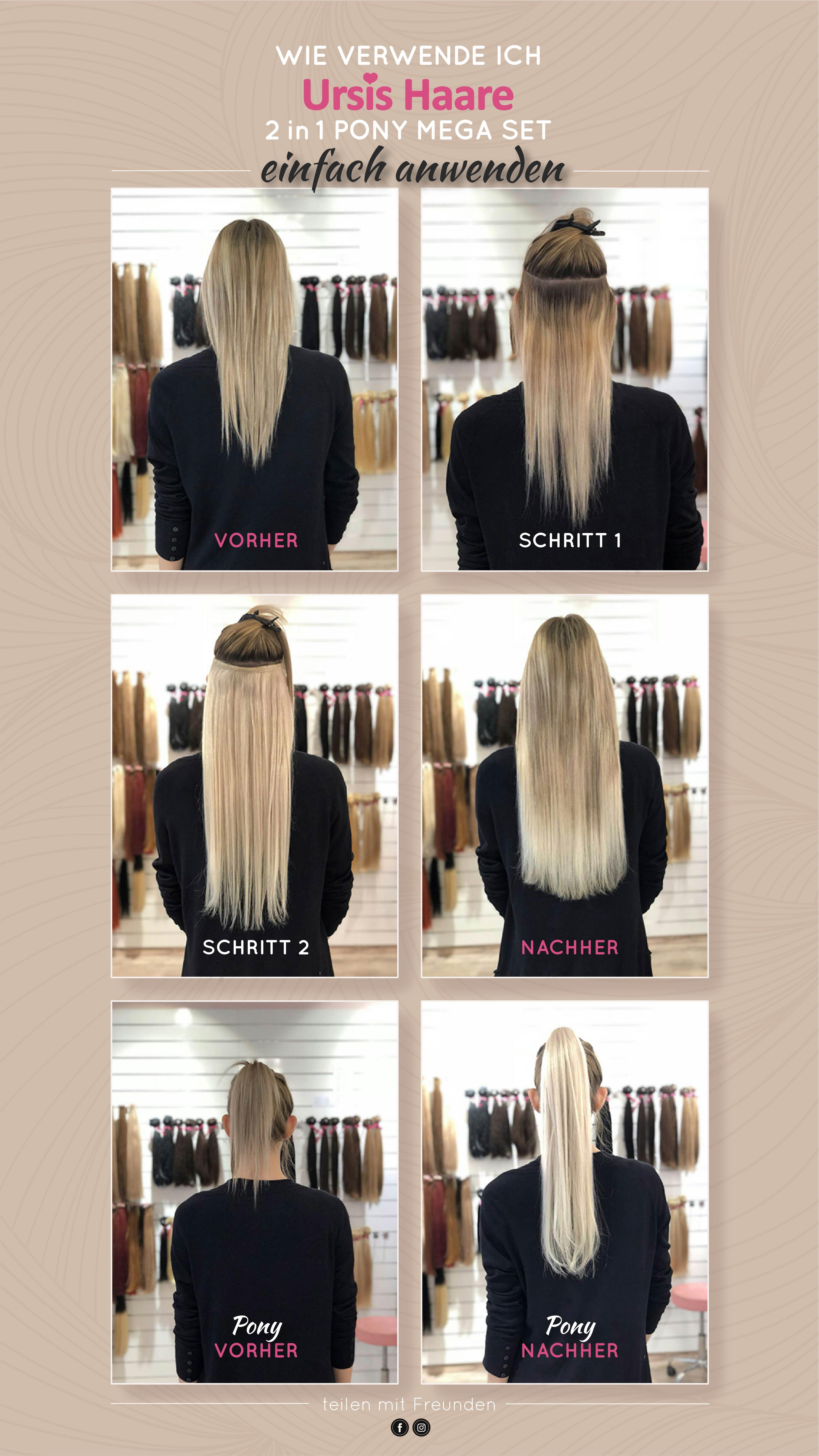 Haarverlangerung ursis haare
